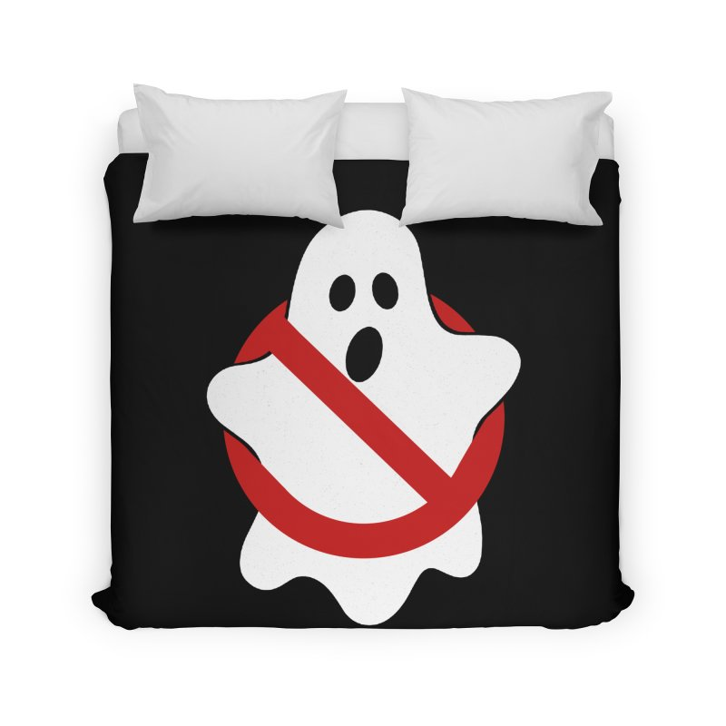 Beware of ghost Home Duvet by clingcling's Artist Shop