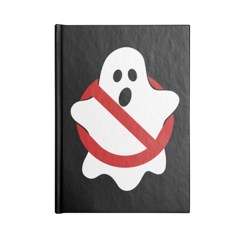 Beware of ghost Accessories Blank Journal Notebook by clingcling's Artist Shop