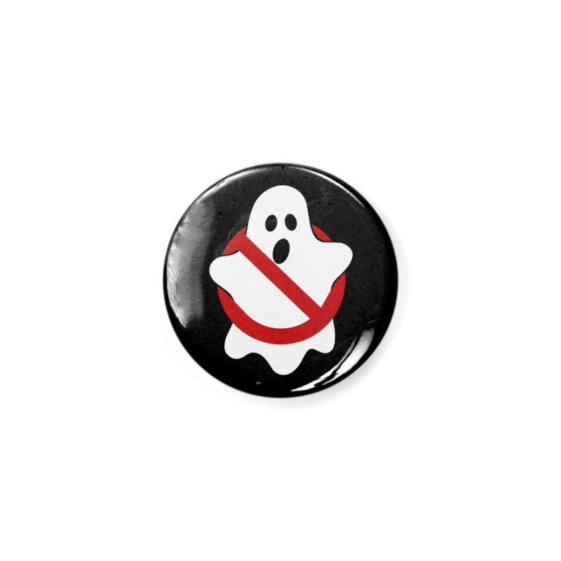 Beware of ghost Accessories Button by clingcling's Artist Shop