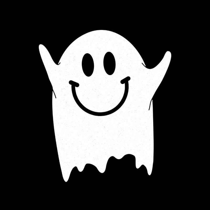 Happy ghost by clingcling's Artist Shop
