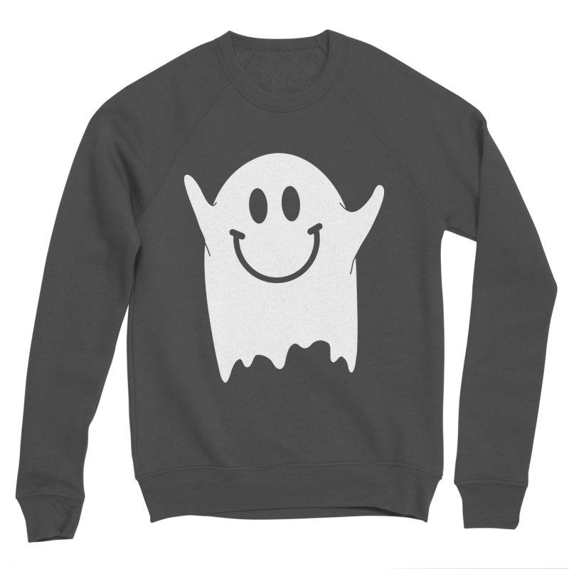 Happy ghost Women's Sponge Fleece Sweatshirt by clingcling's Artist Shop