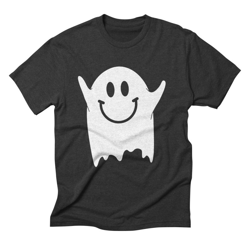 Happy ghost Men's Triblend T-Shirt by clingcling's Artist Shop
