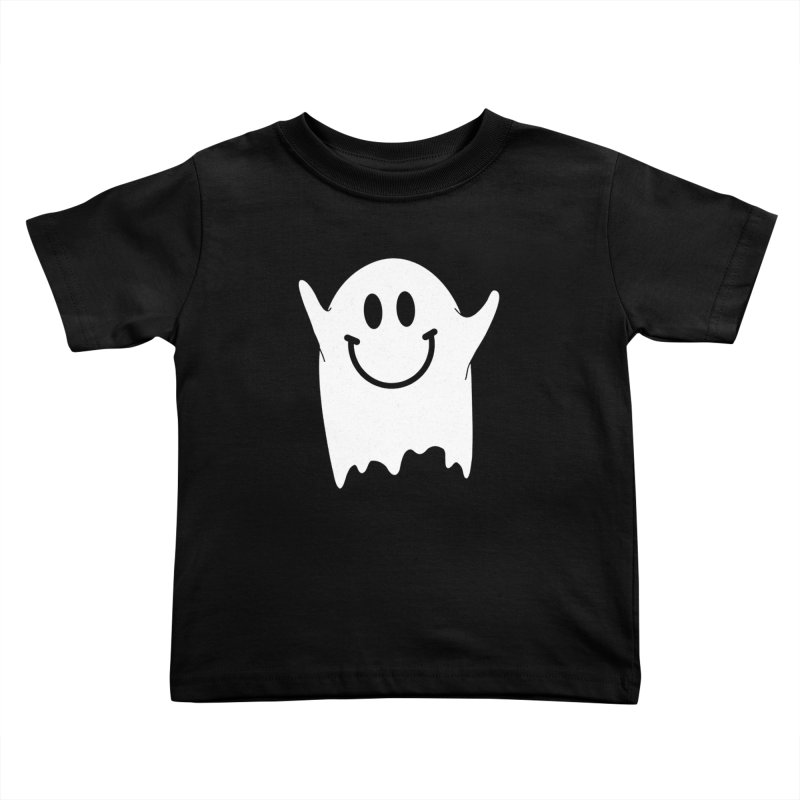 Happy ghost Kids Toddler T-Shirt by clingcling's Artist Shop