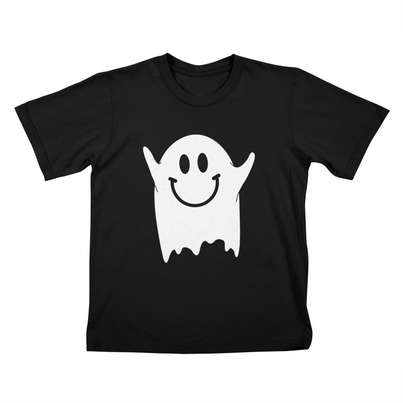 Happy ghost Kids T-Shirt by clingcling's Artist Shop