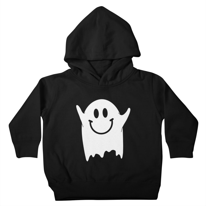 Happy ghost Kids Toddler Pullover Hoody by clingcling's Artist Shop