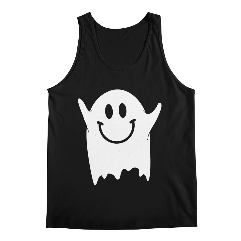 Happy ghost Men's Regular Tank by clingcling's Artist Shop