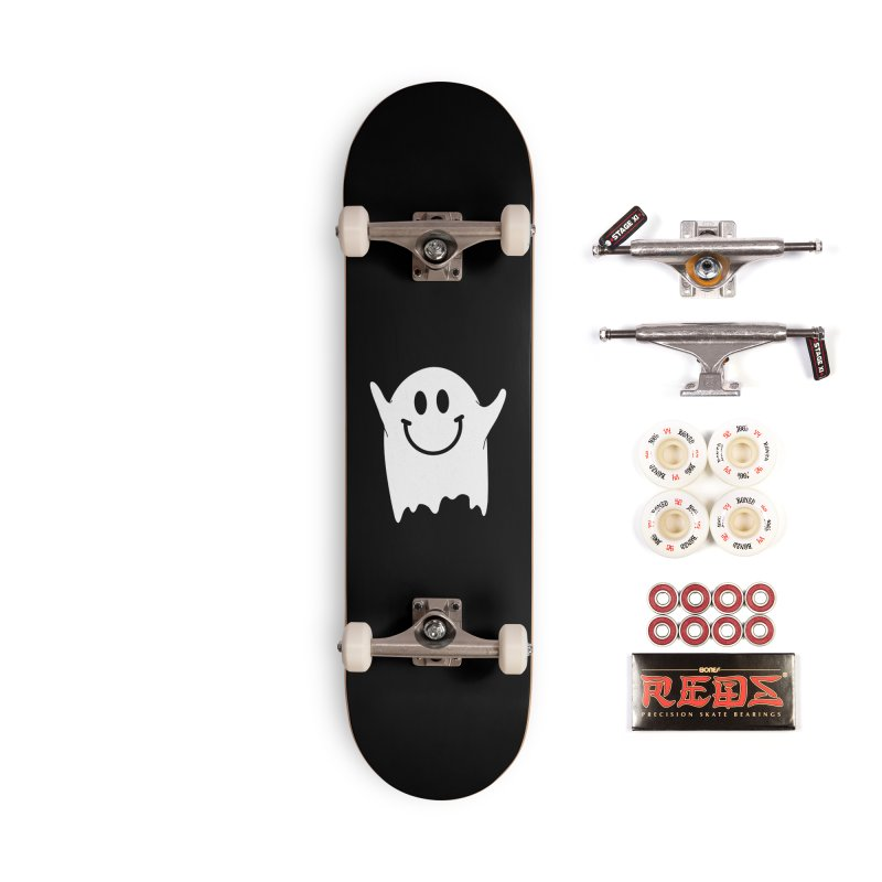 Happy ghost Accessories Complete - Pro Skateboard by clingcling's Artist Shop