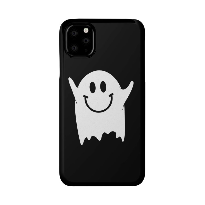 Happy ghost Accessories Phone Case by clingcling's Artist Shop