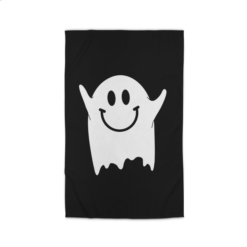 Happy ghost Home Rug by clingcling's Artist Shop