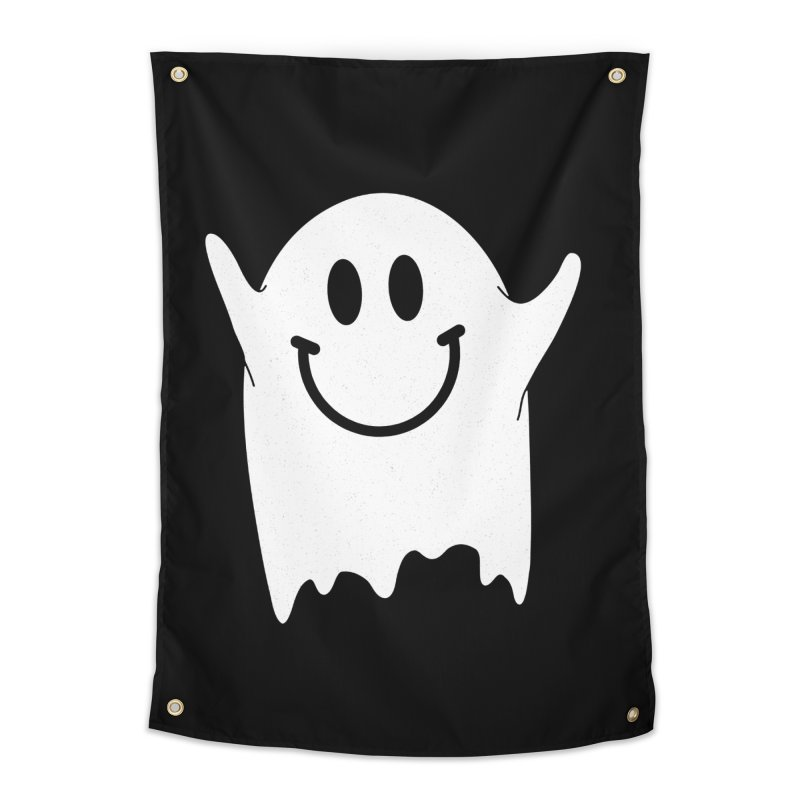 Happy ghost Home Tapestry by clingcling's Artist Shop