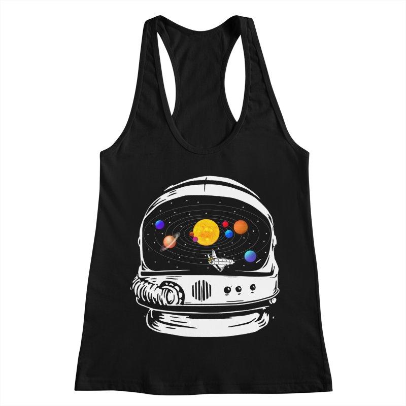 Explore the solarsystem Women's Racerback Tank by clingcling's Artist Shop