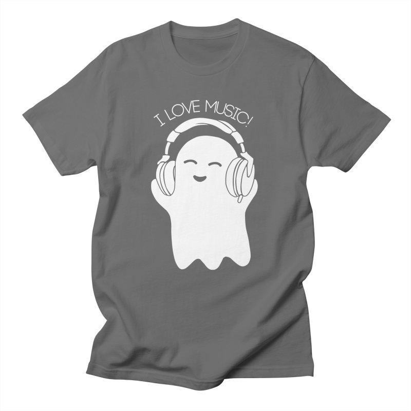 Ghost love music Men's Regular T-Shirt by clingcling's Artist Shop