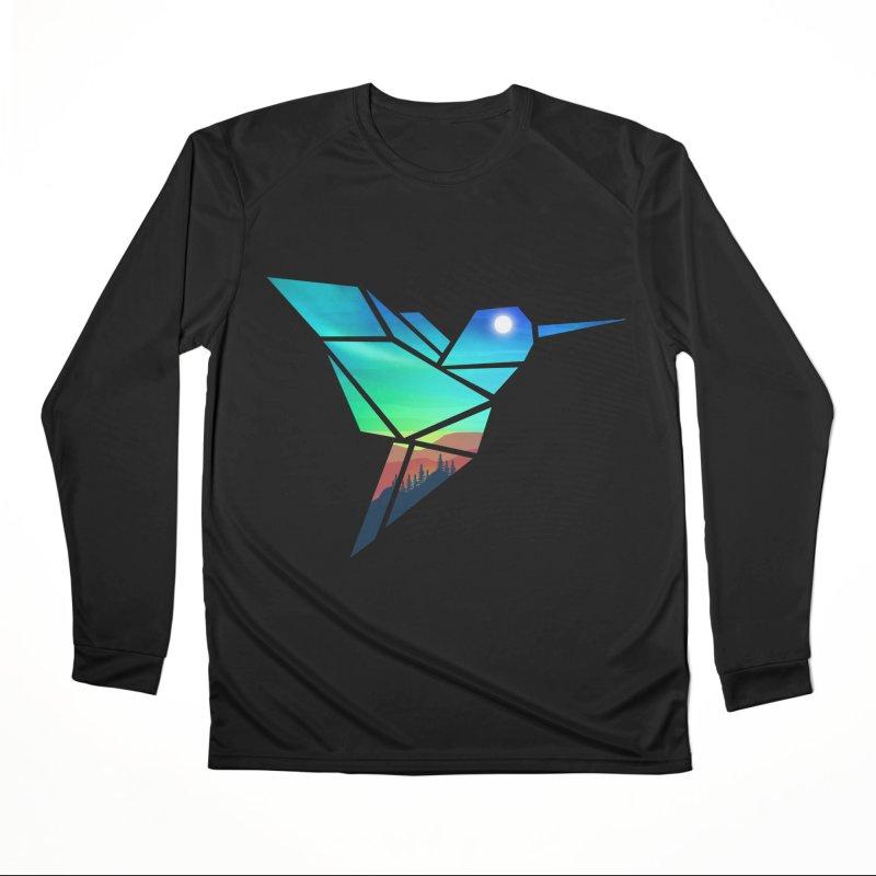 Mountain Sparrow Men's Performance Longsleeve T-Shirt by clingcling's Artist Shop