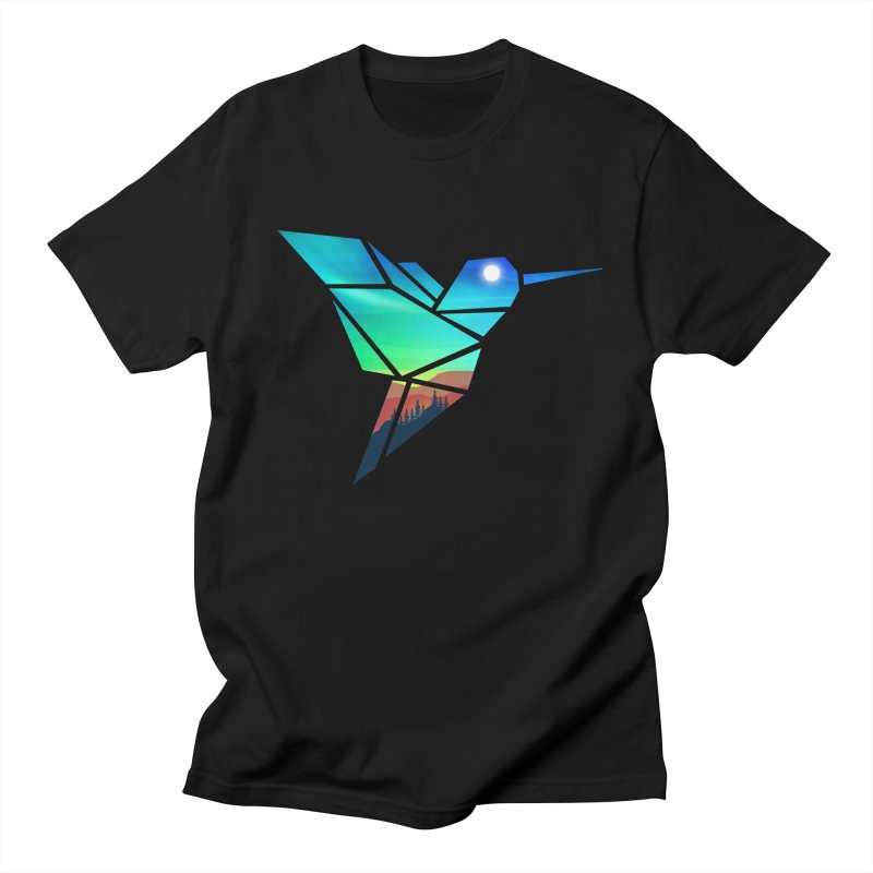 Mountain Sparrow Men's Regular T-Shirt by clingcling's Artist Shop