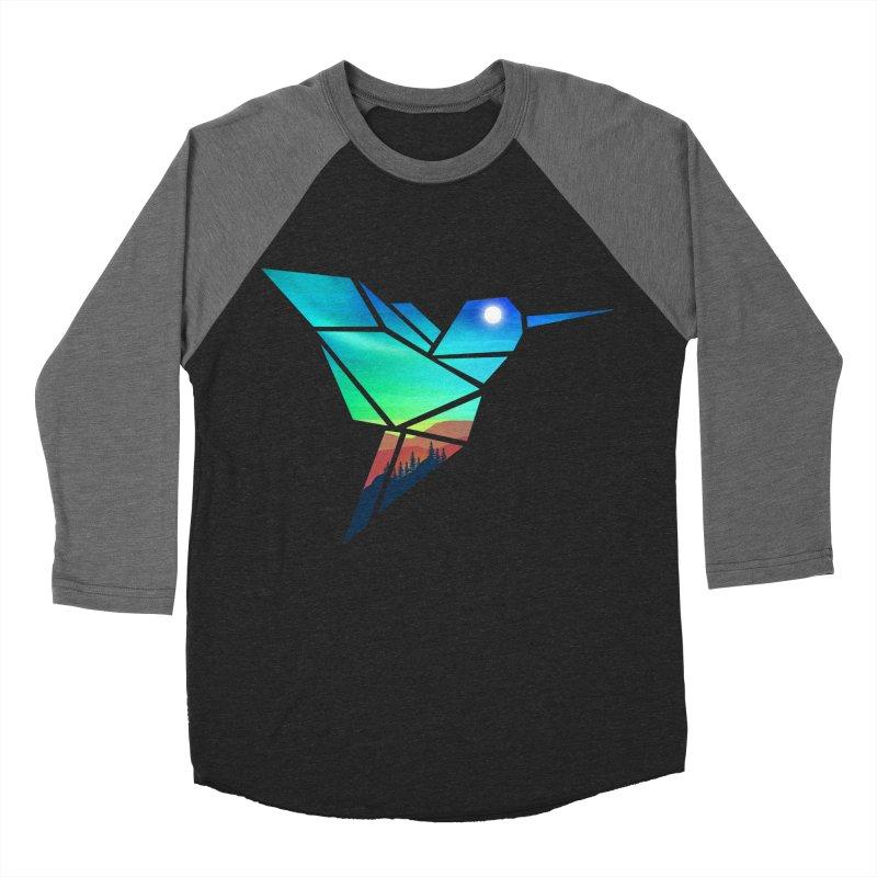 Mountain Sparrow Men's Baseball Triblend Longsleeve T-Shirt by clingcling's Artist Shop