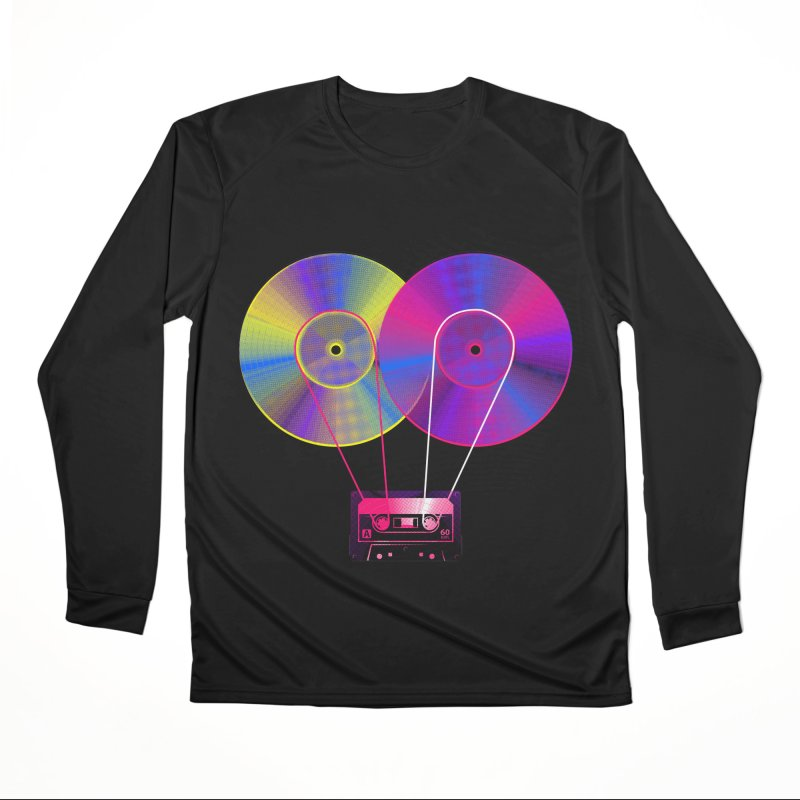 Nonstop Men's Performance Longsleeve T-Shirt by clingcling's Artist Shop