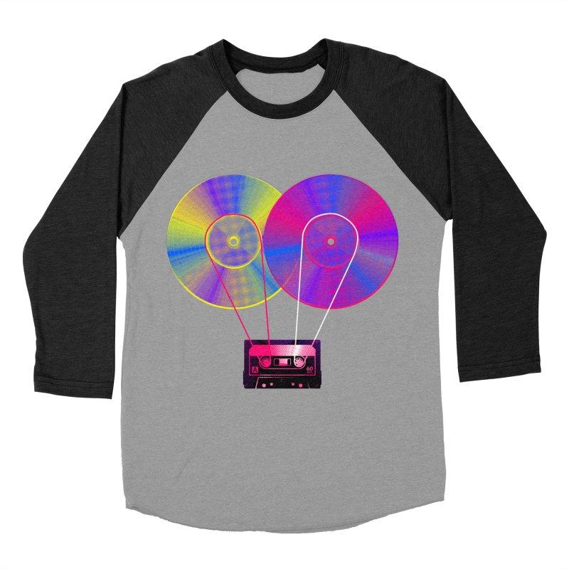 Nonstop Men's Baseball Triblend Longsleeve T-Shirt by clingcling's Artist Shop