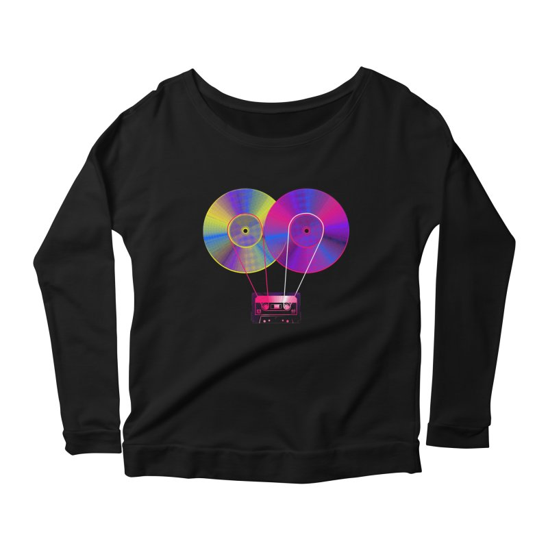 Nonstop Women's Scoop Neck Longsleeve T-Shirt by clingcling's Artist Shop