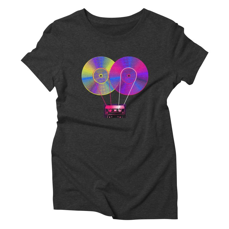 Nonstop Women's Triblend T-Shirt by clingcling's Artist Shop