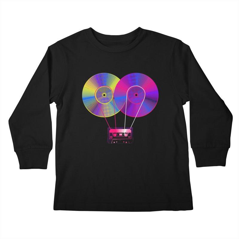 Nonstop Kids Longsleeve T-Shirt by clingcling's Artist Shop