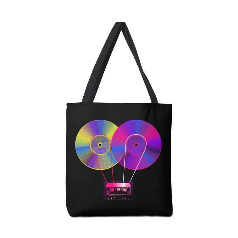 Nonstop Accessories Tote Bag Bag by clingcling's Artist Shop