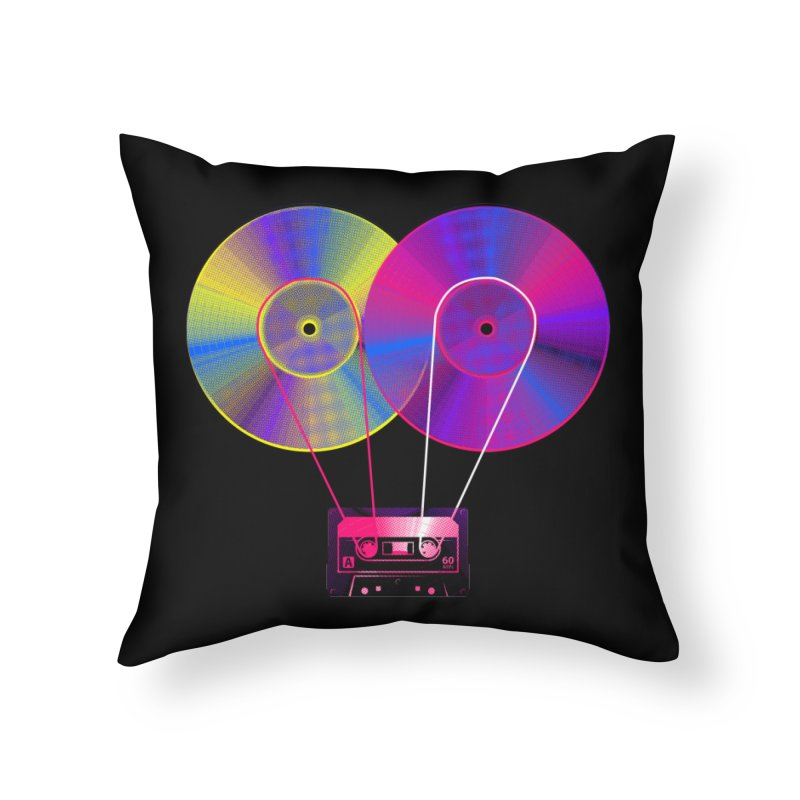 Nonstop Home Throw Pillow by clingcling's Artist Shop