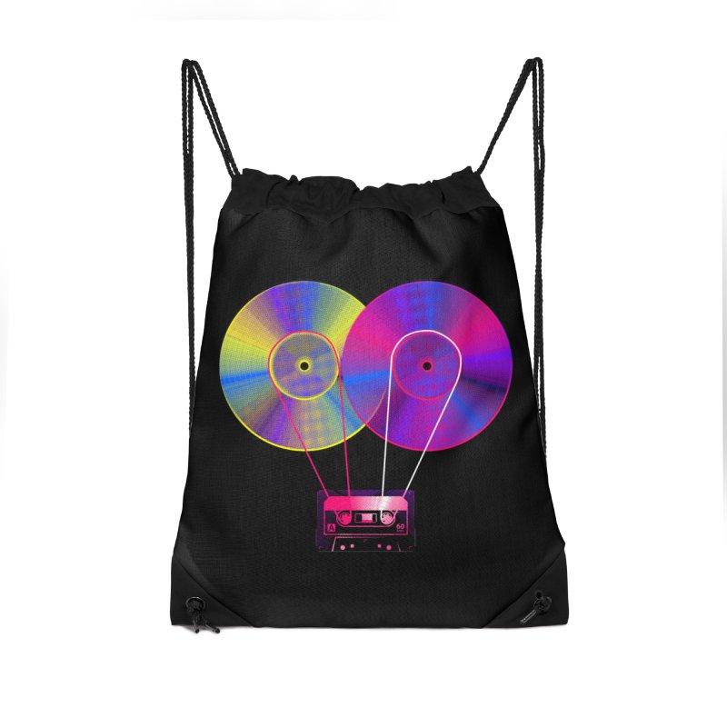 Nonstop Accessories Drawstring Bag Bag by clingcling's Artist Shop