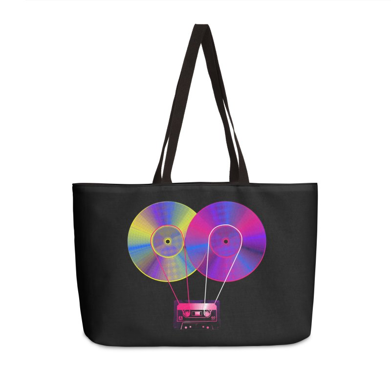Nonstop Accessories Weekender Bag Bag by clingcling's Artist Shop
