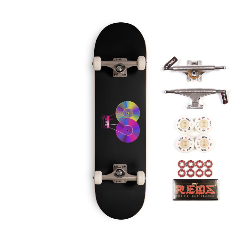 Nonstop Accessories Complete - Pro Skateboard by clingcling's Artist Shop