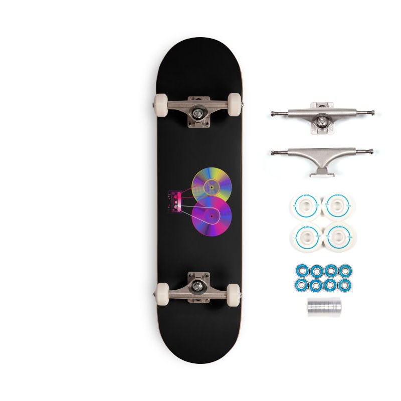 Nonstop Accessories Complete - Basic Skateboard by clingcling's Artist Shop