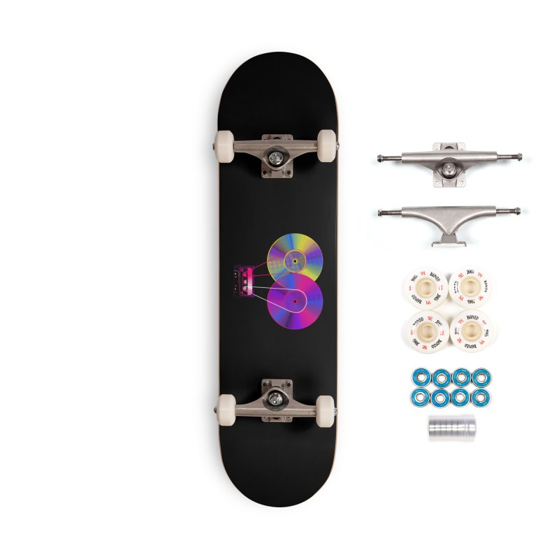 Nonstop Accessories Complete - Premium Skateboard by clingcling's Artist Shop