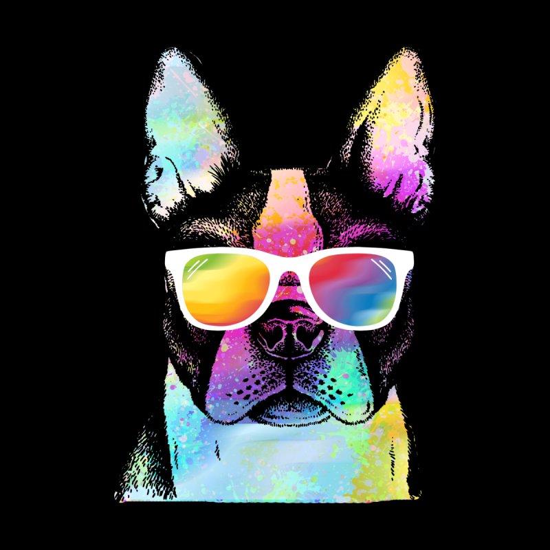 Rainbow summer pug by clingcling's Artist Shop