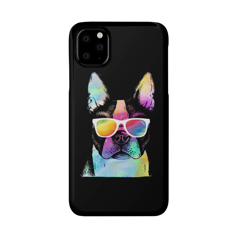 Rainbow summer pug Accessories Phone Case by clingcling's Artist Shop