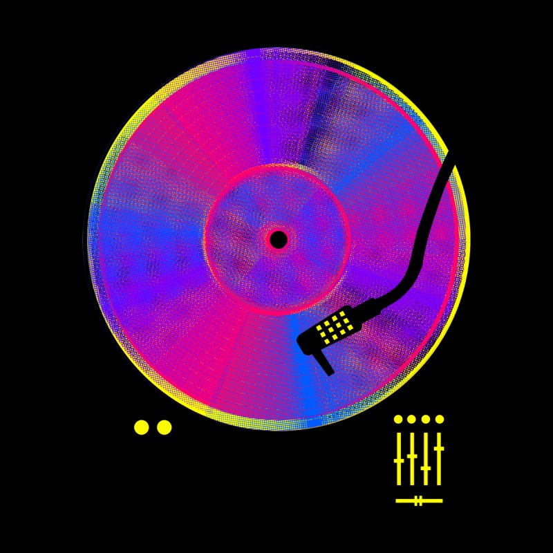 Retro Music by clingcling's Artist Shop