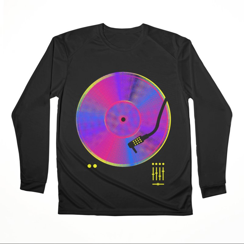 Retro Music Women's Performance Unisex Longsleeve T-Shirt by clingcling's Artist Shop