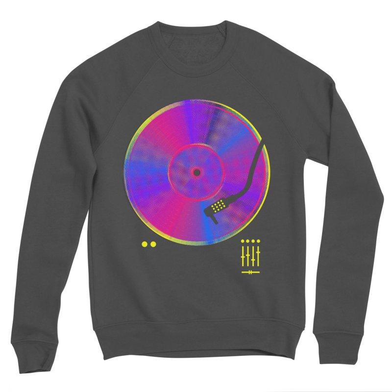 Retro Music Men's Sponge Fleece Sweatshirt by clingcling's Artist Shop