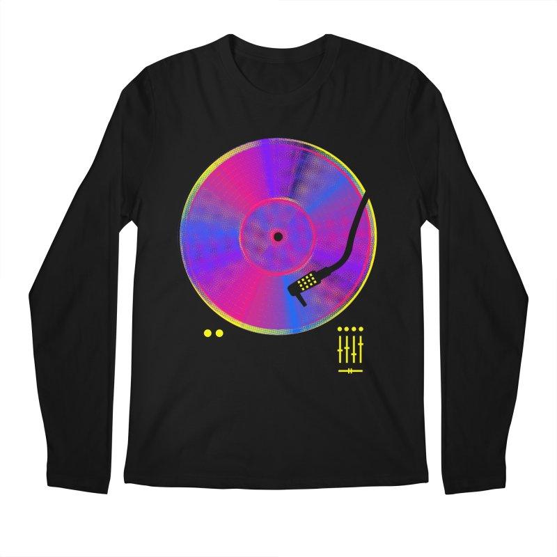 Retro Music Men's Regular Longsleeve T-Shirt by clingcling's Artist Shop