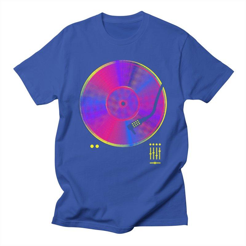 Retro Music Men's Regular T-Shirt by clingcling's Artist Shop