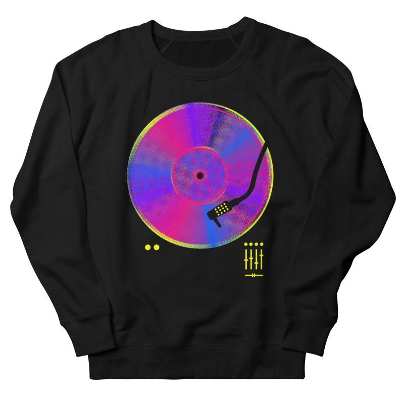 Retro Music Women's French Terry Sweatshirt by clingcling's Artist Shop