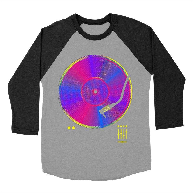 Retro Music Men's Baseball Triblend Longsleeve T-Shirt by clingcling's Artist Shop