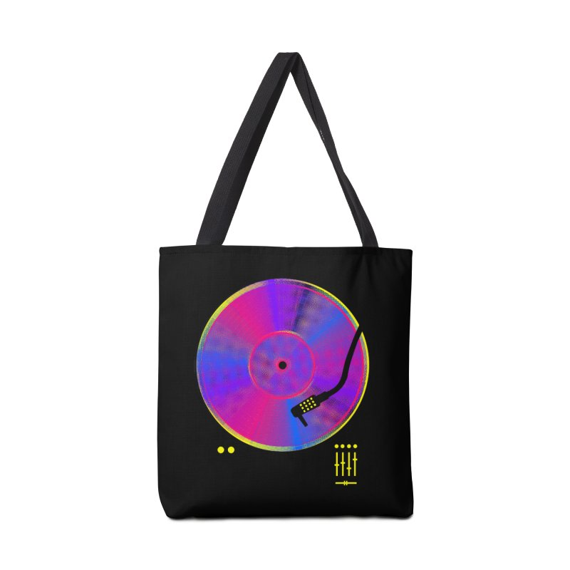 Retro Music Accessories Tote Bag Bag by clingcling's Artist Shop