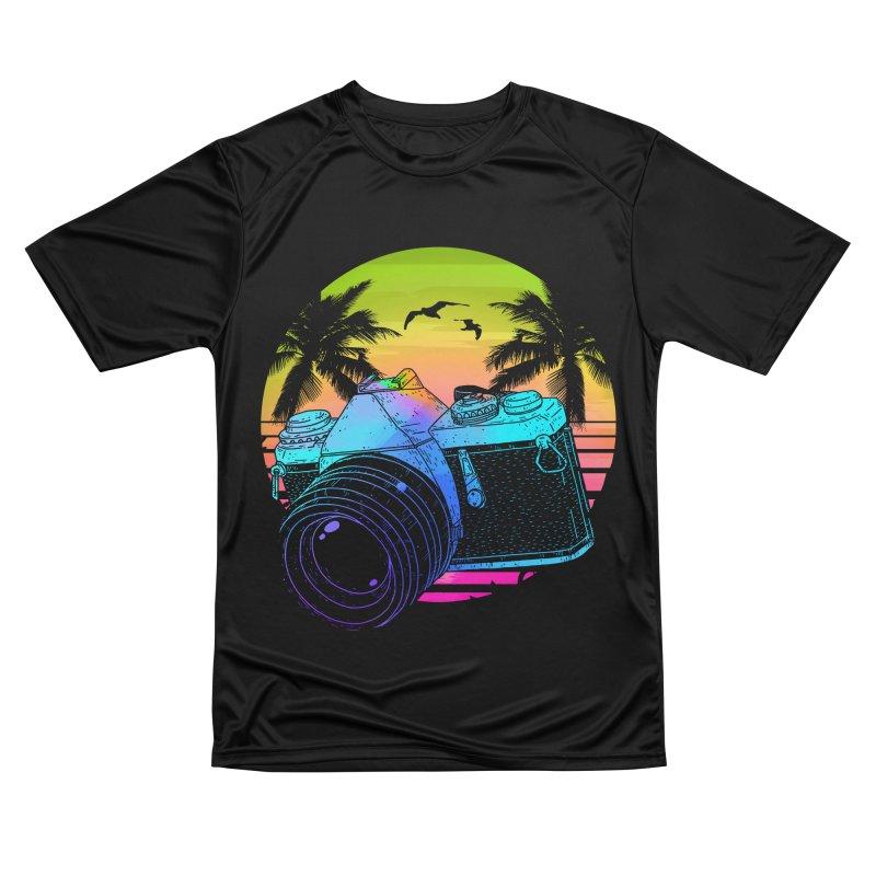 Retro Camera Women's Performance Unisex T-Shirt by clingcling's Artist Shop
