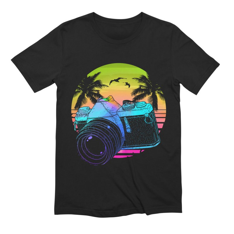 Retro Camera Men's Extra Soft T-Shirt by clingcling's Artist Shop