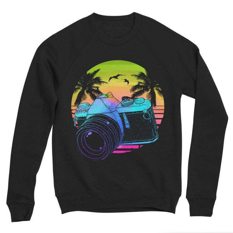 Retro Camera Men's Sponge Fleece Sweatshirt by clingcling's Artist Shop