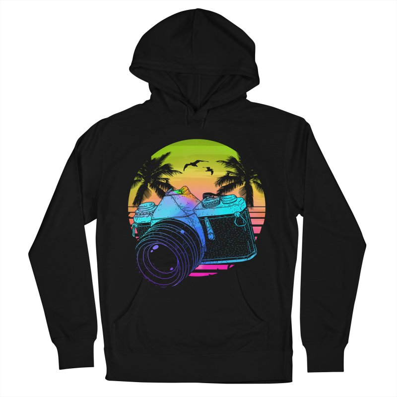 Retro Camera Women's French Terry Pullover Hoody by clingcling's Artist Shop