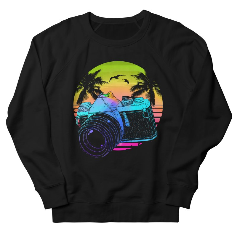 Retro Camera Women's French Terry Sweatshirt by clingcling's Artist Shop