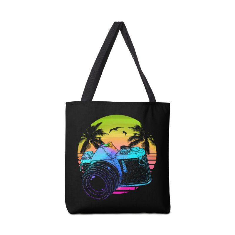 Retro Camera Accessories Tote Bag Bag by clingcling's Artist Shop