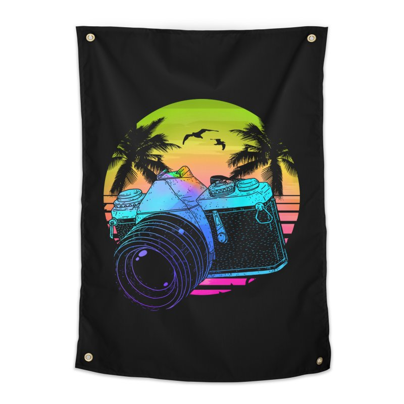 Retro Camera Home Tapestry by clingcling's Artist Shop