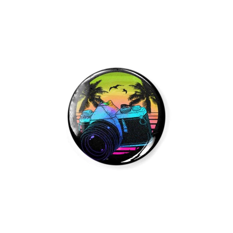 Retro Camera Accessories Button by clingcling's Artist Shop