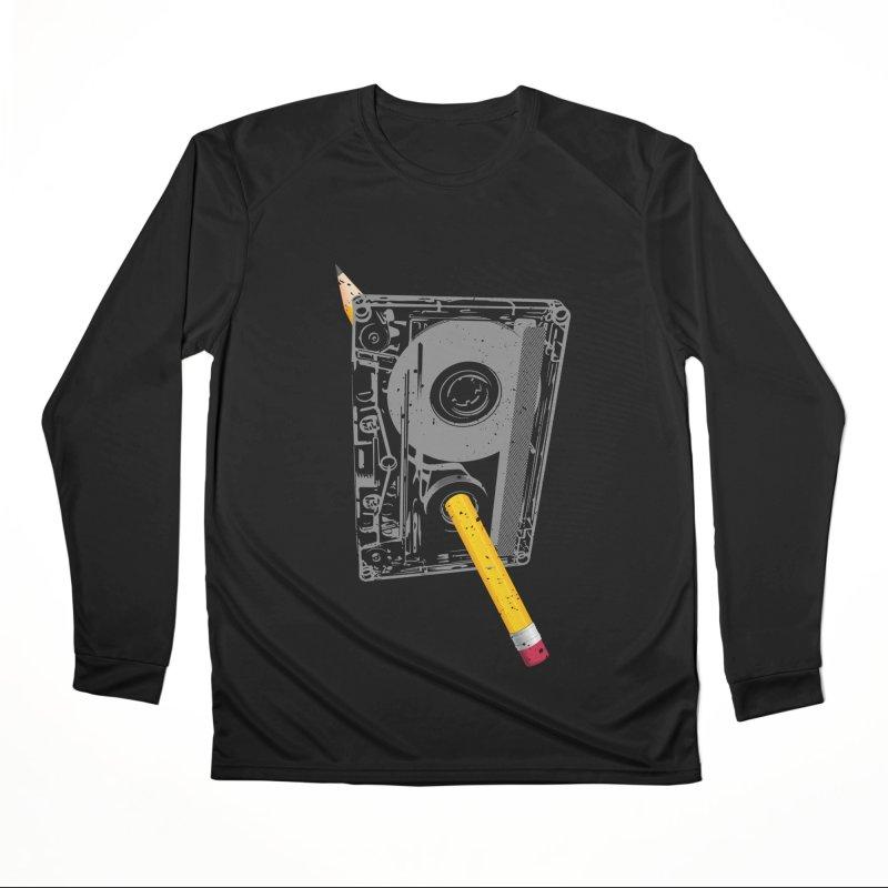 Rewind Men's Performance Longsleeve T-Shirt by clingcling's Artist Shop